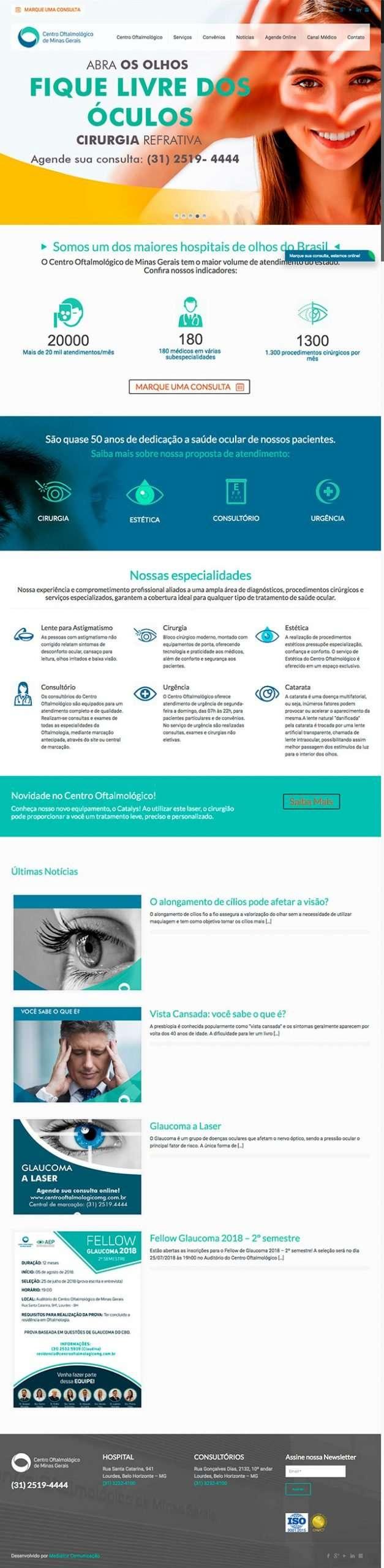 Centro Oftalmologico de Minas Gerais scaled Portfolio