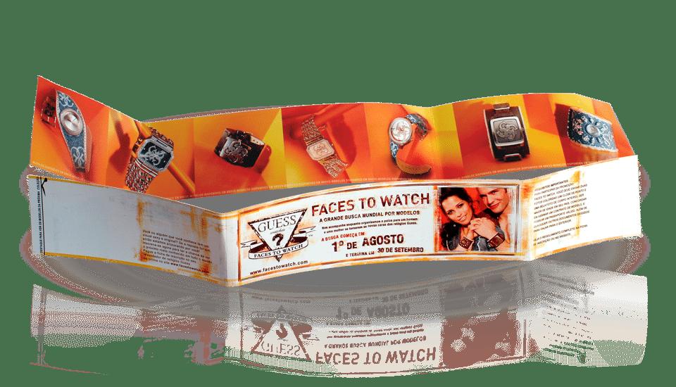 cinta faces to watch Publicidade e Propaganda
